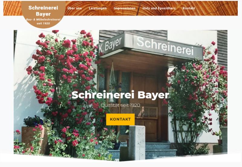 Schreinerei Bayer
